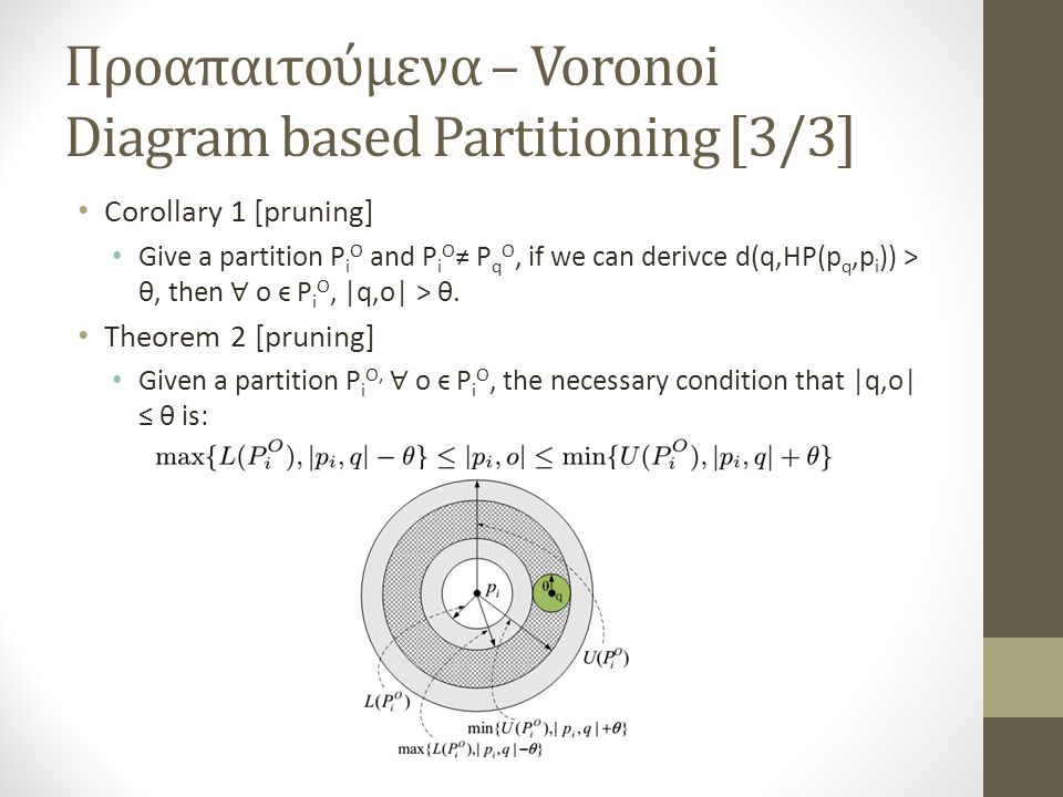 Προαπαιτούμενα – Voronoi Diagram based Partitioning [3/3]